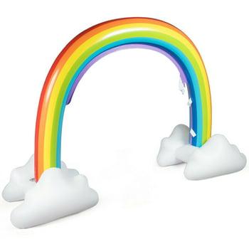 Inflatable Rainbow Yard Summer Sprinkler Toy