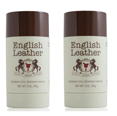 English Leather Deodorant Stick - 3 Oz (85g) (2 Pack)