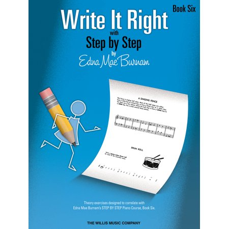 Write It Right - Book 6: Written Lessons Designed to Correlate Exactly with Edna Mae Burnam