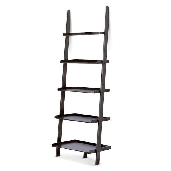Poundex Furniture F462 Kojiko Five-Tier Leaning Wall Shelf