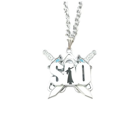 Sword Art Online Fashion Novelty Pendant Necklace Anime Manga Series with Gift