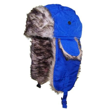 Best Winter Hats - Best Winter Hats Toddler Soft Nylon Russian Aviator Winter  Hat (One Size) - Blue - Walmart.com 3ae49736741