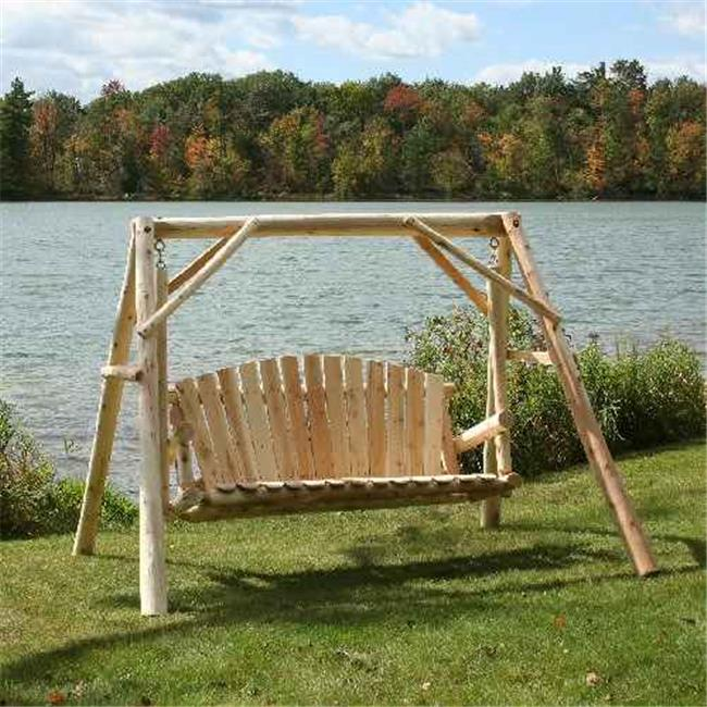Lakeland Mills Country Garden Porch Swing With Stand   Walmart.com