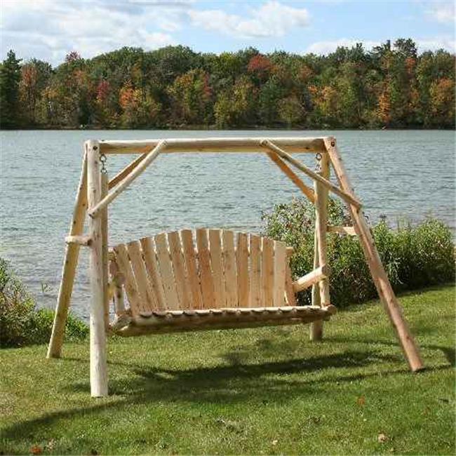5 ft. Cedar Log Yard Swing