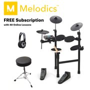 Learn to Play Hitman Sonic HD-7 Electronic Drum Kit with Free Access to Melodics and 40 FREE Lessons
