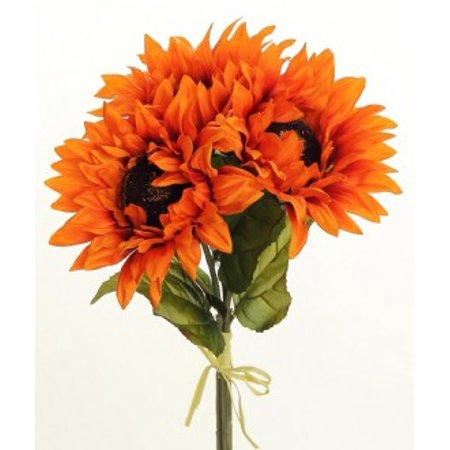 Rust Sunflower (Sunflower Bundle x3, 16