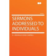 Sermons Addressed to Individuals