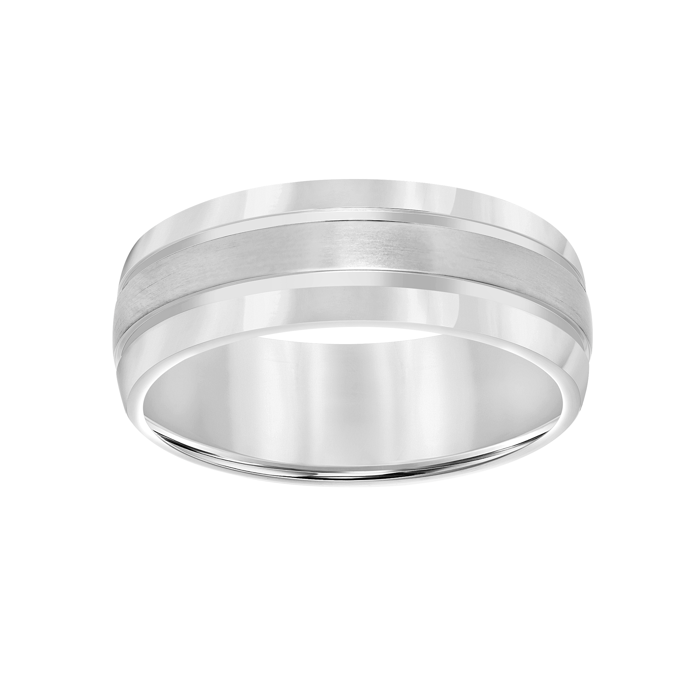 Men's Comfort Fit Titanium Wedding Band, 8mm