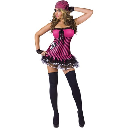 Rockin' Skull Pirate Adult Halloween Costume