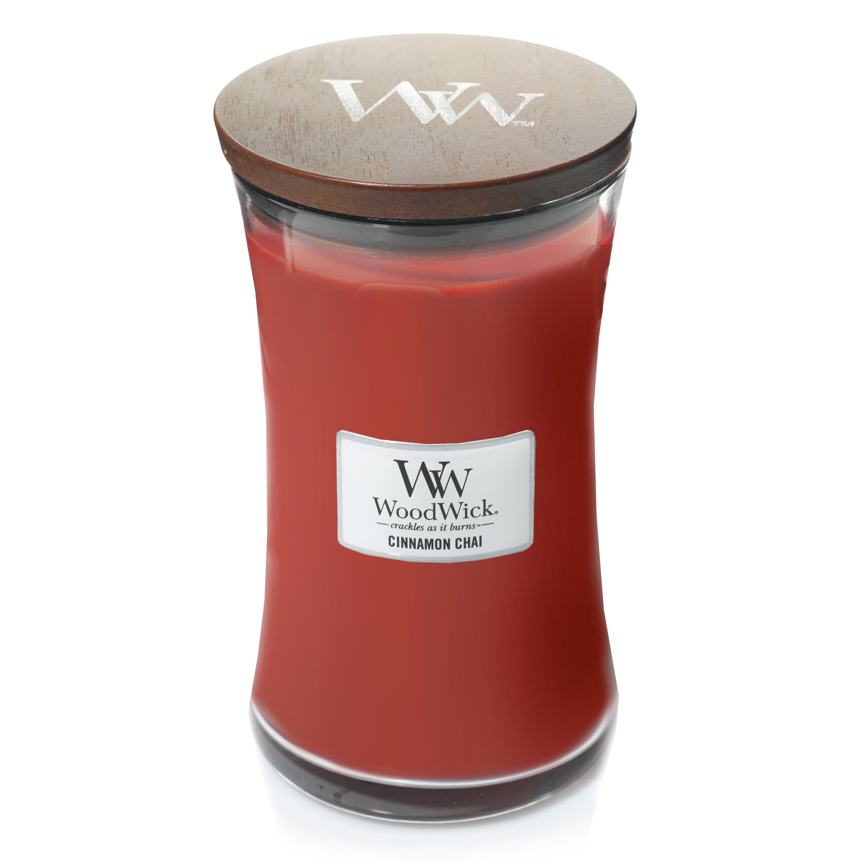 WoodWick Cinnamon Chai - Large Hourglass Candle