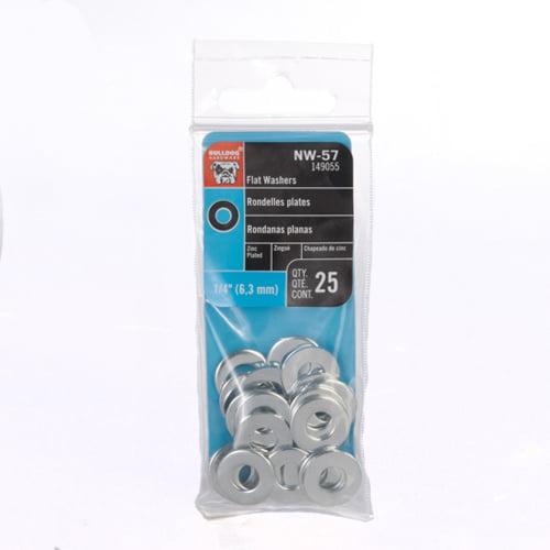 Prime-Line 9096783 Flat Washers X 3//4 in OD Nylon 1//2 in 10-Pack