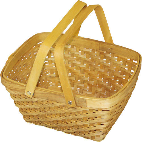 Quickway Imports Rectangular Chip Picnic Basket
