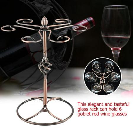 Filfeel Red Wine Glass Stemware Hanger Holder Hanging Rack Shelf Bar, Red Wine Holder,Red Wine Holder ()