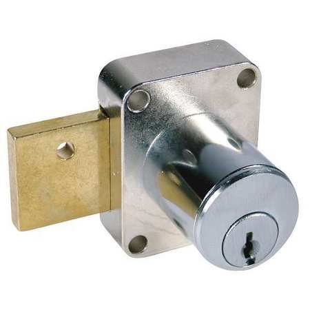 COMPX NATIONAL C8173-101-26D Pin Tumbler Cam Door Lock,DullChrome,101