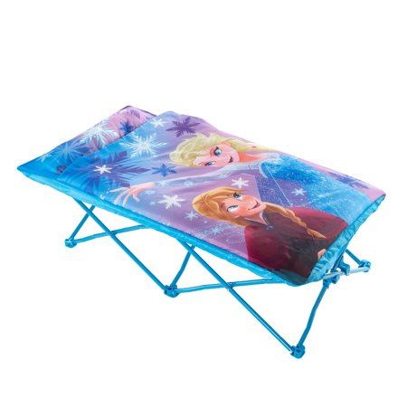 Disney Frozen Portable Folding Bed Cot with Sleeping