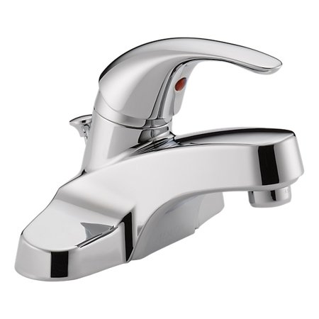 Peerless Tunbridge Centerset Single Handle Bathroom Faucet in Chrome