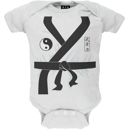 Halloween Karate Kid Costume Baby One Piece](Halloween 5 Baby I'm Yours)