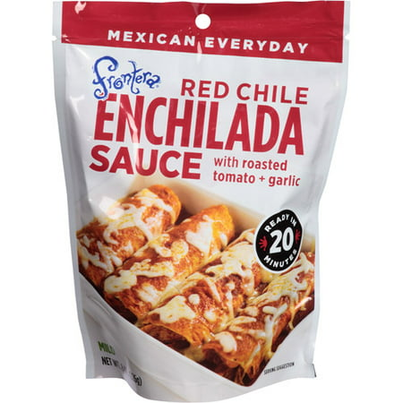 Frontera Red Chile Enchilada Sauce with Roasted Tomato & Garlic, 8 oz, (Pack of (Authentic Red Enchilada Sauce Recipe Rick Bayless)