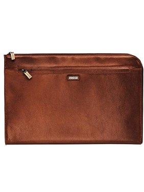 5ebe756e4e Visconti BOND - Brown Leather Under Arm Folio