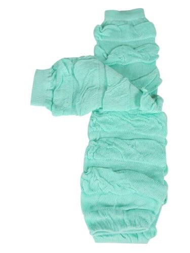ALLYDREW Solid Baby Leg Warmer & Solid Toddler Leg Warmer for Boys & Girls (Ruffle Teal)