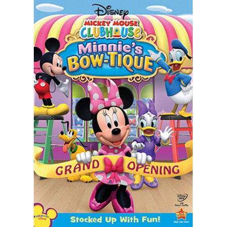 Mickey Mouse Clubhouse Minnie's Bow-Tique (DVD) - Minnie's Bowtique Halloween