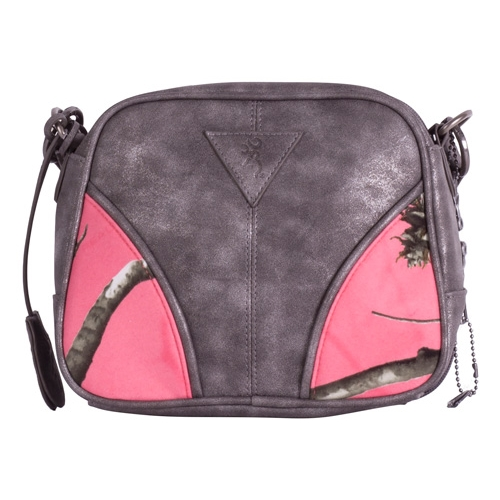 Browning Conceal Carry Bag Ivy Small Grey/Coral Camo