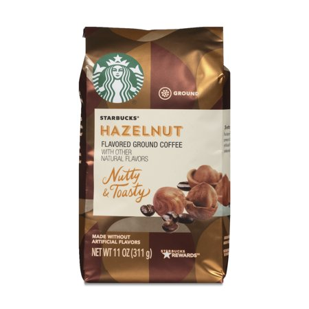 Starbucks Flavored Ground Coffee — Hazelnut — No Artificial Flavors — 1 bag (11 oz.)