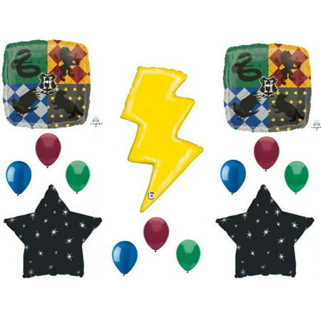 Harry Potter Lightning Bolt Birthday Party Balloons Decoration Supplies Baby - Baby Birthday Supplies