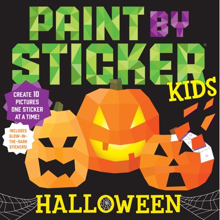 Halloween Phrases For Kids (Paint by Sticker Kids: Halloween -)