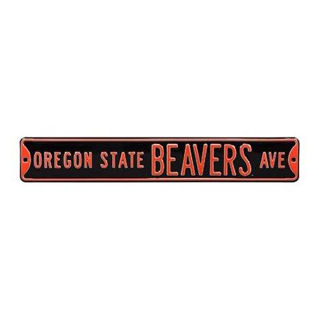 Oregon State Beavers Ave Street Sign