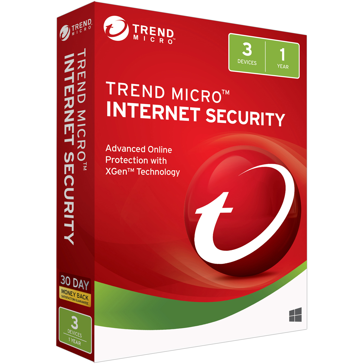 Trend Micro Internet Security 3U 2018