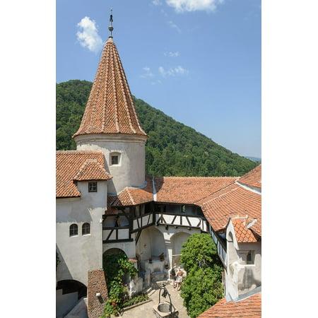 Canvas Print Bran Travel Castle Romania Stretched Canvas 10 x