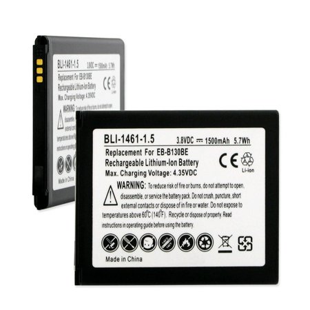 Ace Telephone (Samsung Galaxy Ace 4 3G Cell Phone Battery (LI-ION 3.8V 1500mAh) - Replacement For Samsung EB-B130 EB-B130AU EB-B130BE Cellphone)