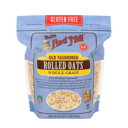 Bob's Red Mill Gluten Free Rolled Oats, Old Fashion, 32