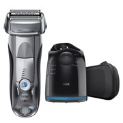 Braun Series 7 790cc Mens Wet Dry Electric Shaver with Clean Station