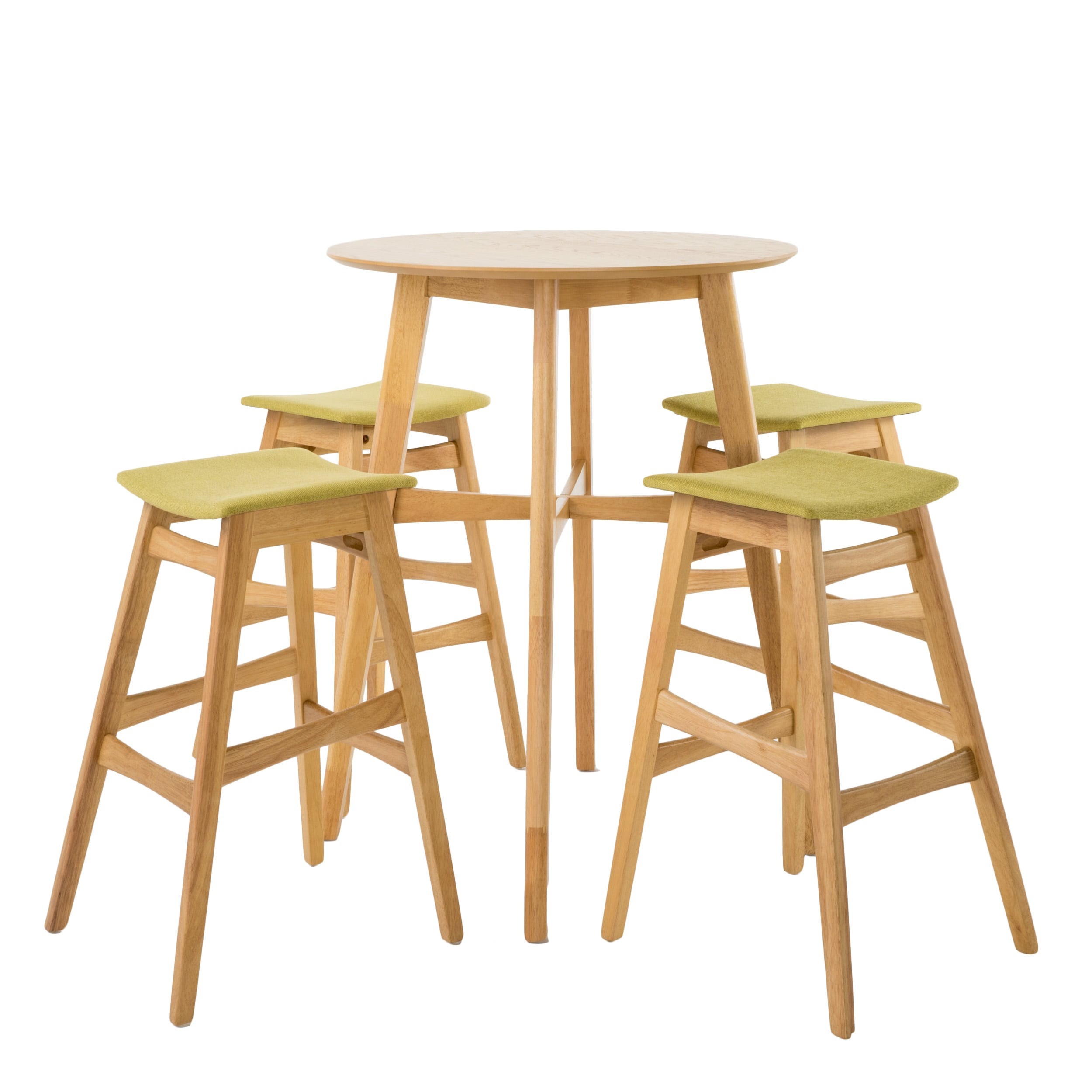 Christopher Knight Home Emmaline Mid-Century 5-piece Bar Height Dining by