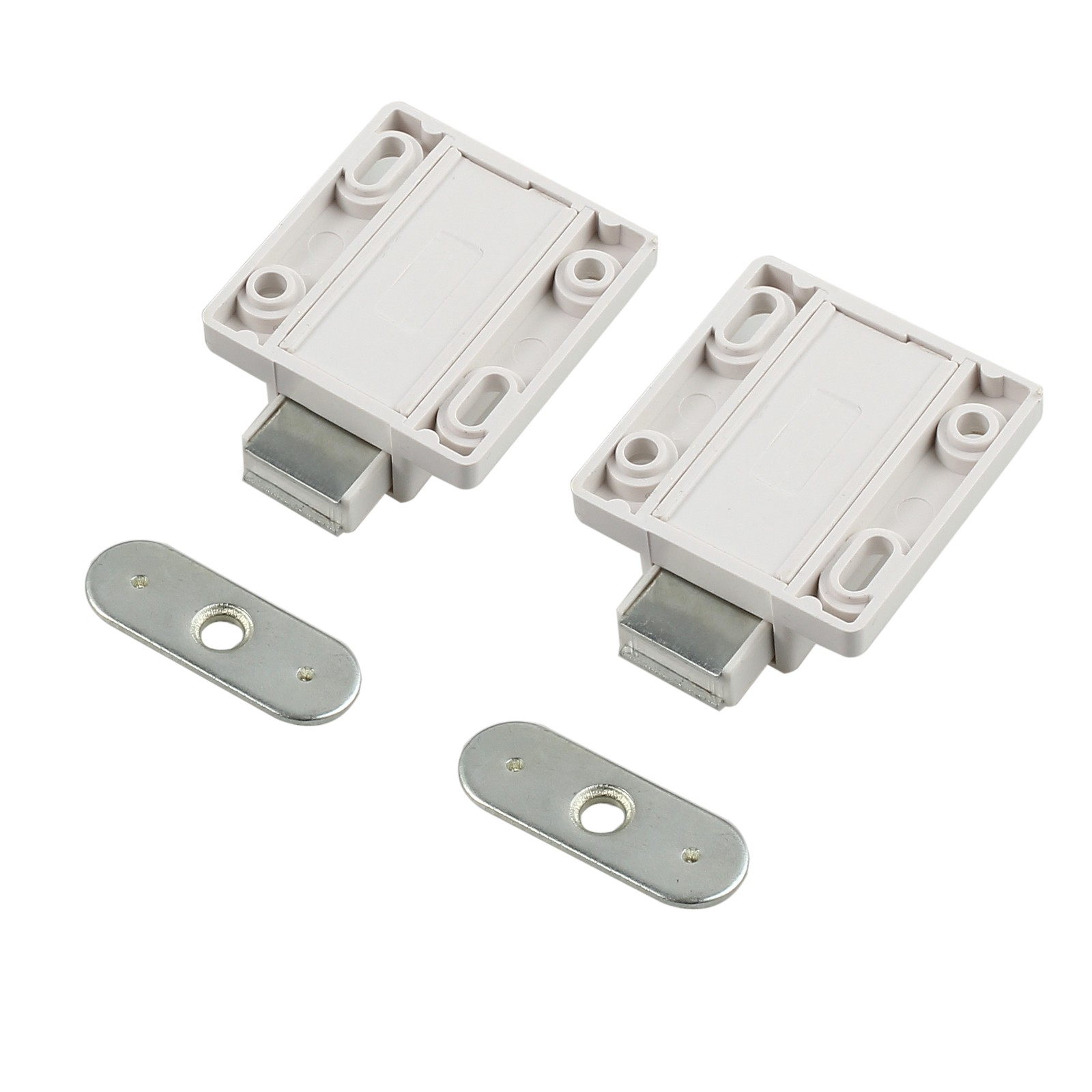 100 Magnetic Cabinet Latch Door Push Open Catch Source