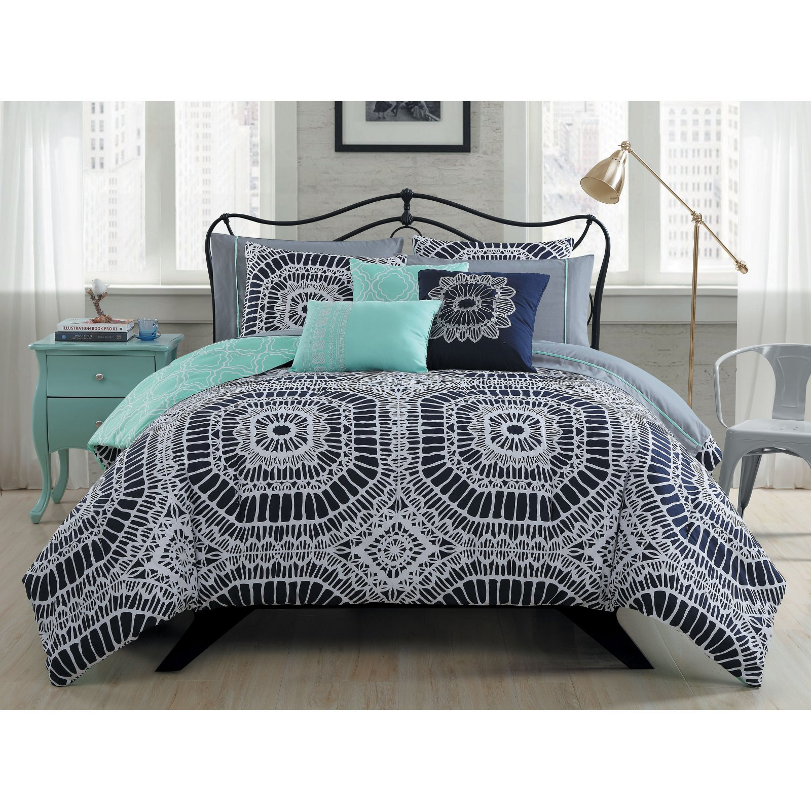 Petra 10 Piece Bed in a Bag by Avondale Manor