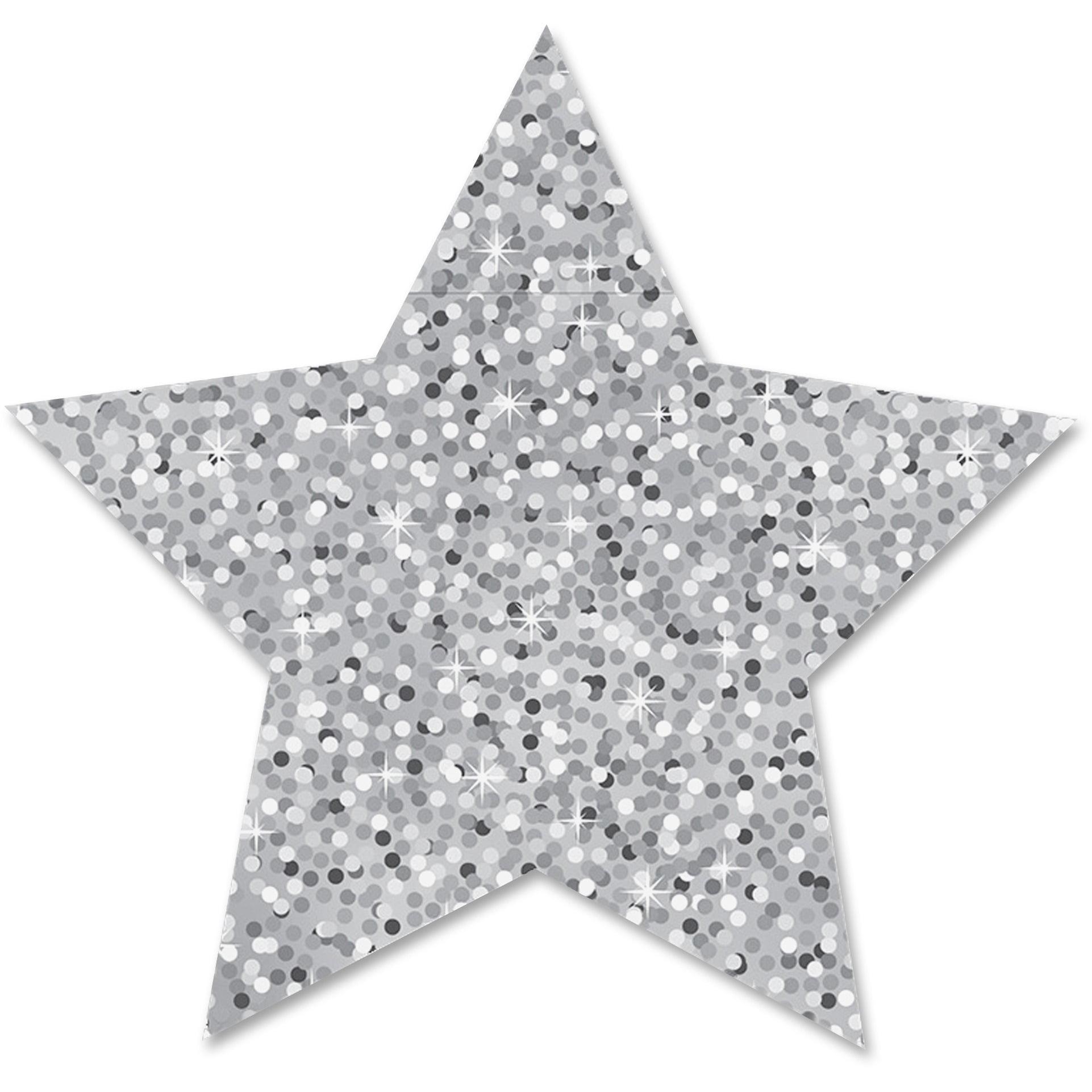 Ashley, ASH30451, Sparkle Decorative Magnetic Star, 6 / Set, Silver