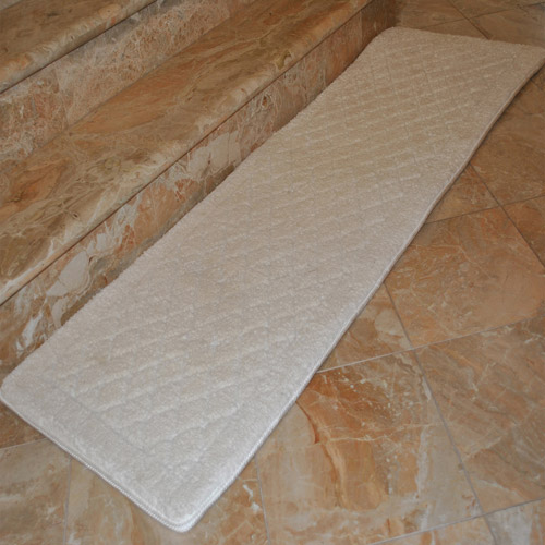 "Fashion Street Extra-Long Memory Foam Bath Rug, 1'8"" x 5'4"" by Generic"
