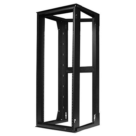 "Hubbell HPWWMR36 Wall Mount Network Rack, Swing Frame, 19U, 36"" Height x 18"" Deep"