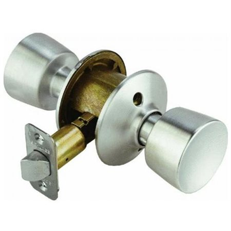 Schlage F10vbel626 Satin Chrome Bell Knob Passage Set