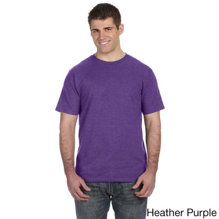 Anvil Men's Ringspun Solid Color Short Sleeve Cotton T-shirt