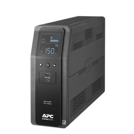 Apc Server Ups - APC Sine Wave UPS Battery Backup & Surge Protector, 1500VA APC Back-UPS Pro (BR1500MS)