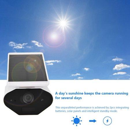 FAGINEY Waterproof Camera,Wireless Surveillance,960P WiFi Solar Energy Security Camera Wireless Waterproof Energy-saving Surveillance Camera - image 7 of 8