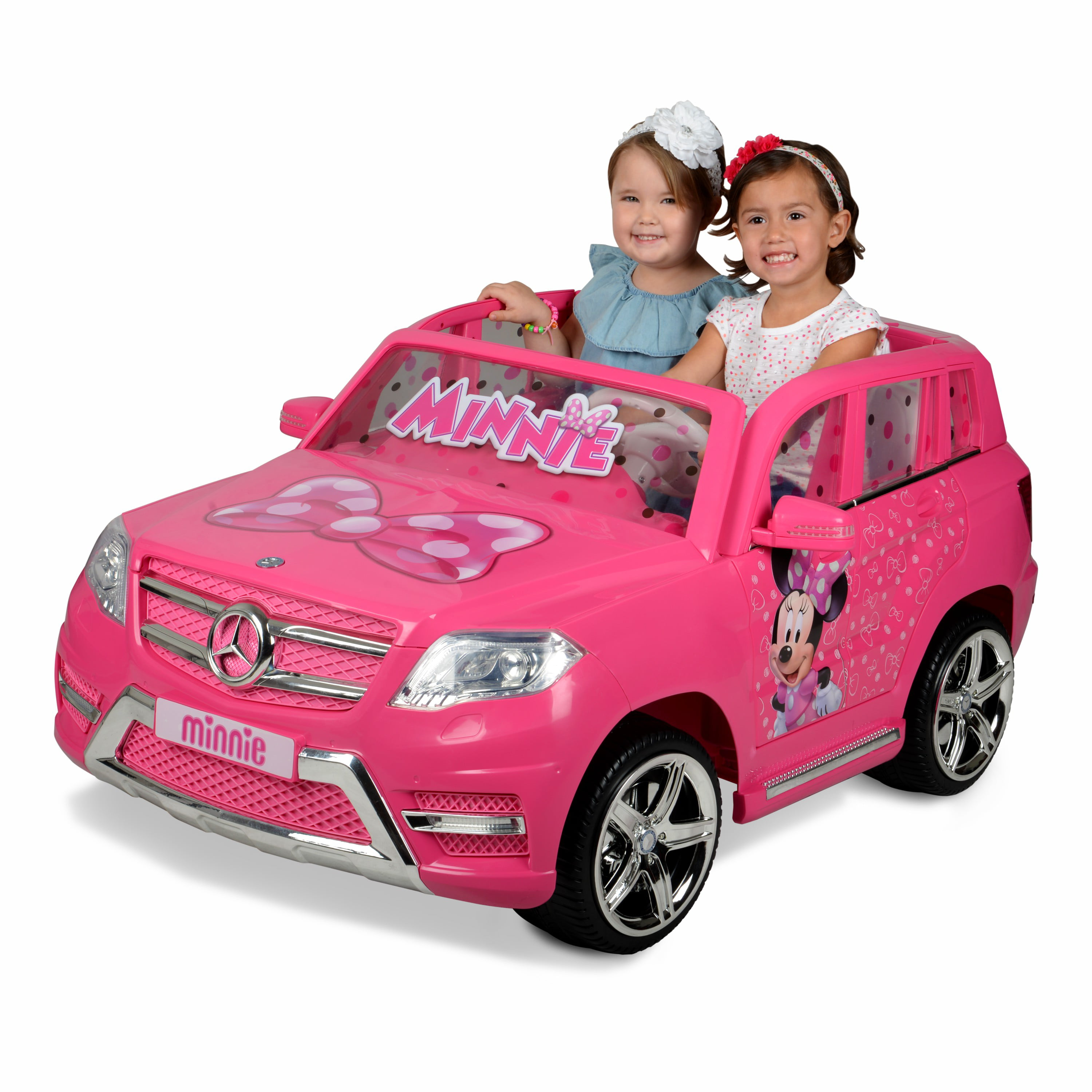 35371e31fb221 12 Volt Minnie Mouse Mercedes Battery Powered Ride On Your little ones will  ride in Luxury