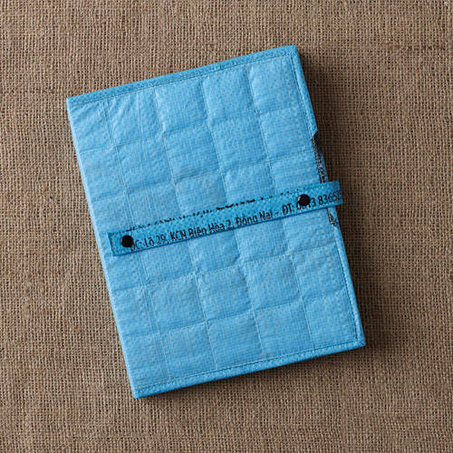 Recycled Rice Bag Quilted iPad Case by Nomi Network for Full Circle Exchange