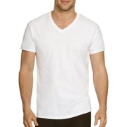 Hanes Men's Comfort Flex Fit V-Neck T-Shirt 3 Pack