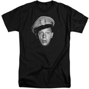 Andy Griffith Barney Head Mens Big and Tall Shirt