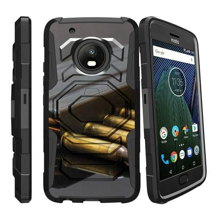 Reloading Rifle Bullets (Case for Motorola G5 Plus | Moto G5 Plus Hybrid Case [ Armor Reloaded ] Heavy Duty Case with Belt Clip & Kickstand FireArm Collection)